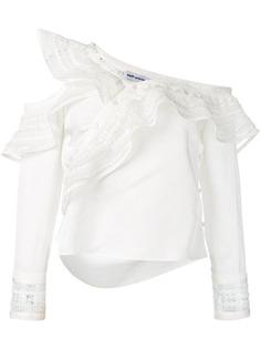 Self-Portrait блузка асимметричного кроя