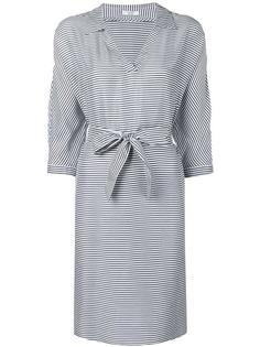 Peserico короткое платье в полоску