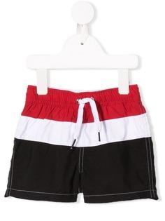 Givenchy Kids плавки-шорты в полоску