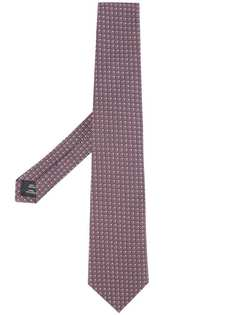 Gieves & Hawkes галстук с вышивкой