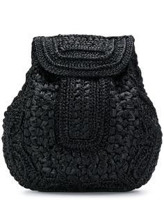 Alberta Ferretti соломенный рюкзак