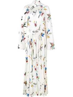 d3054a35b63 Женские длинные платья с воротником-стойкой – купить длинное платье ...