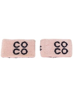 Chanel Vintage манжеты с логотипом
