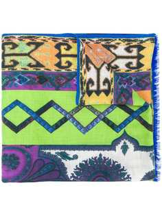 Etro шарф с принтом