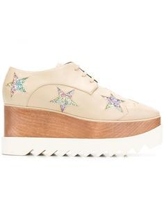 Stella McCartney туфли Star Elyse на платформе