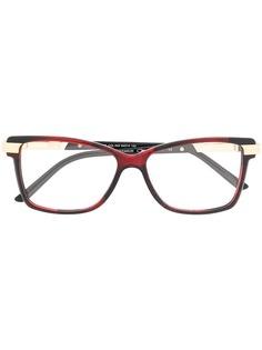 Cazal очки в квадратной оправе