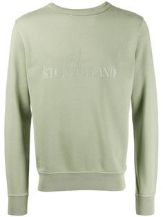 Stone Island classic logo sweatshirt