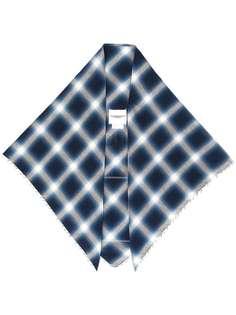 Takahiromiyashita The Soloist классический клетчатый платок