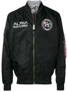 Alpha Industries бомбер MA-1 Moon Landing