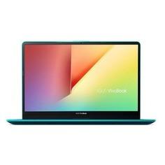 """Ноутбук ASUS VivoBook S530FN-BQ173T, 15.6"""", Intel Core i7 8565U 1.8ГГц, 8Гб, 1000Гб, nVidia GeForce Mx150 - 2048 Мб, Windows 10, 90NB0K41-M02530, зеленый"""