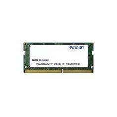 Модуль памяти PATRIOT PSD48G240081S DDR4 - 8Гб 2400, SO-DIMM, Ret Патриот