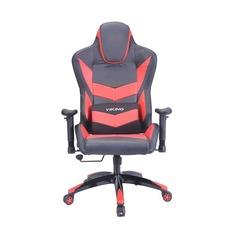 Кресло игровое БЮРОКРАТ CH-773N, на колесиках, искусственная кожа [ch-773n/bl+red]