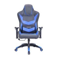 Кресло игровое БЮРОКРАТ CH-773N, на колесиках, искусственная кожа [ch-773n/bl+blue]