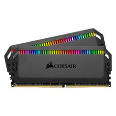Модуль памяти CORSAIR DOMINATOR PLATINUM RGB CMT32GX4M2C3200C16 DDR4 - 2x 16Гб 3200, DIMM, Ret
