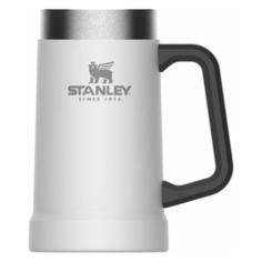 Термокружка STANLEY Adventure Vacuum Stein, 0.7л, белый