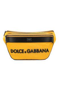 Комбинированная поясная сумка Street Dolce & Gabbana
