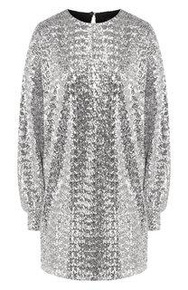 Платье с пайетками Isabel Marant