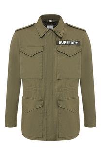 Хлопковая куртка Burberry