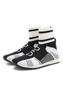 Текстильные кроссовки Dolce & Gabbana