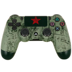 """Аксессуар для игровой консоли PlayStation 4 Геймпад DualShock 4 """"Броня Победы"""""""