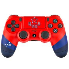 Аксессуар для игровой консоли PlayStation 4 DualShock 4 КХЛ ЦСКА