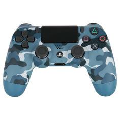 Аксессуар для игровой консоли PlayStation 4 Геймпад Dualshock v2 синий камуфляж