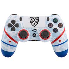 Аксессуар для игровой консоли PlayStation 4 DualShock 4 КХЛ Русский Лёд