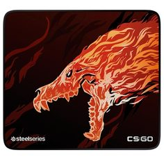 Игровой коврик Steelseries QcK+CS:GO Howl Edition (63403)