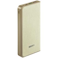 Внешний аккумулятор InterStep PB1218PD 12000mAh TypeC QC/PD + 8pin вход, Beige