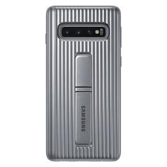 Чехол Samsung Protective Standing Cover для Galaxy S10, Silver