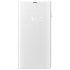 Чехол Samsung View Cover для Galaxy S10+, White