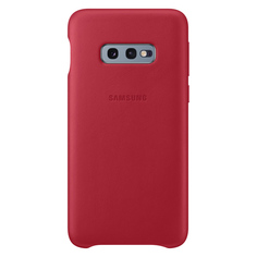 Чехол Samsung Leather Cover для Galaxy S10E, Red