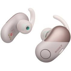 Спортивные наушники Bluetooth Sony WF-SP700N Pink