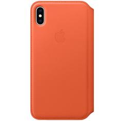 Чехол Apple iPhone XS Max Leather Folio Sunset