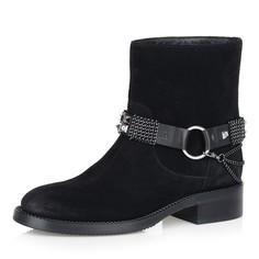 Ботинки Черные ботинки на натуральном меху Respect