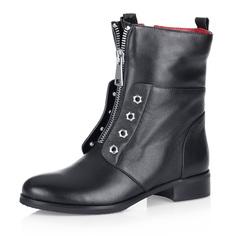 Высокие черные ботинки из кожи Respect