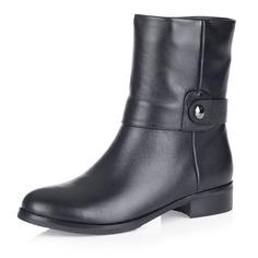 Высокие ботинки из натуральной кожи Respect