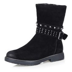 Ботинки Черные ботинки с декоративным ремешком Respect