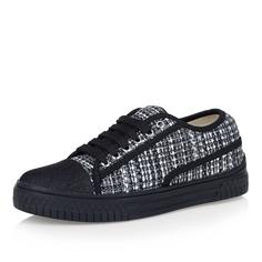 Кроссовки Принтованные черно-белые кроссовки Respect