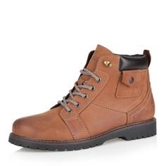 Ботинки Рыжие ботинки из нубука на шерсти Respect