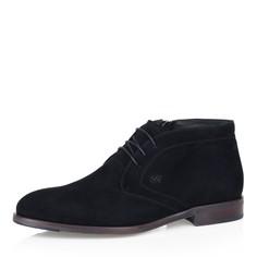Ботинки Черные ботинки из велюра на меху Respect