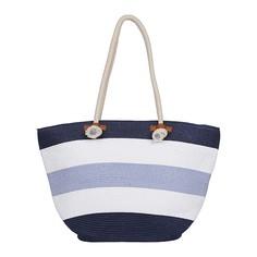 Комбинированная пляжная сумка Fabretti