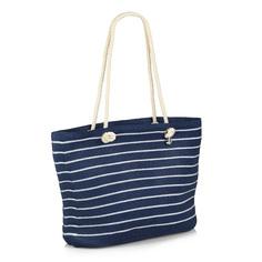 Сумки Пляжная сумка в полоску Fabretti