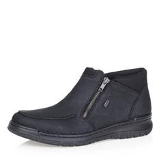 Ботинки Черные комфортные ботинки на шерсти Rieker