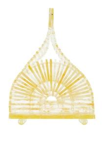 Лимонно-желтая мини-сумка Cupola Cult Gaia