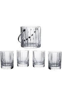 Набор из ведра для льда и 4-х стаканов для виски harmonie Baccarat