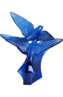 Скульптура two swallows Lalique