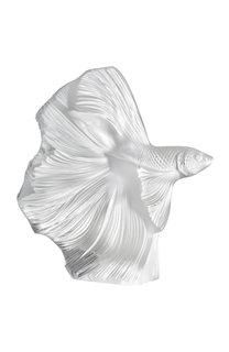 Скульптура poissons combattants Lalique