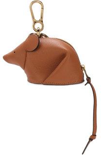 Кожаный брелок mouse Loewe
