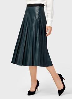 Плиссированная юбка из искусственной кожи Ostin